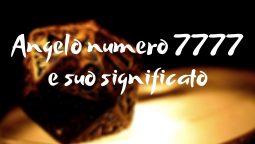 Angelo numero 7777 e suo significato